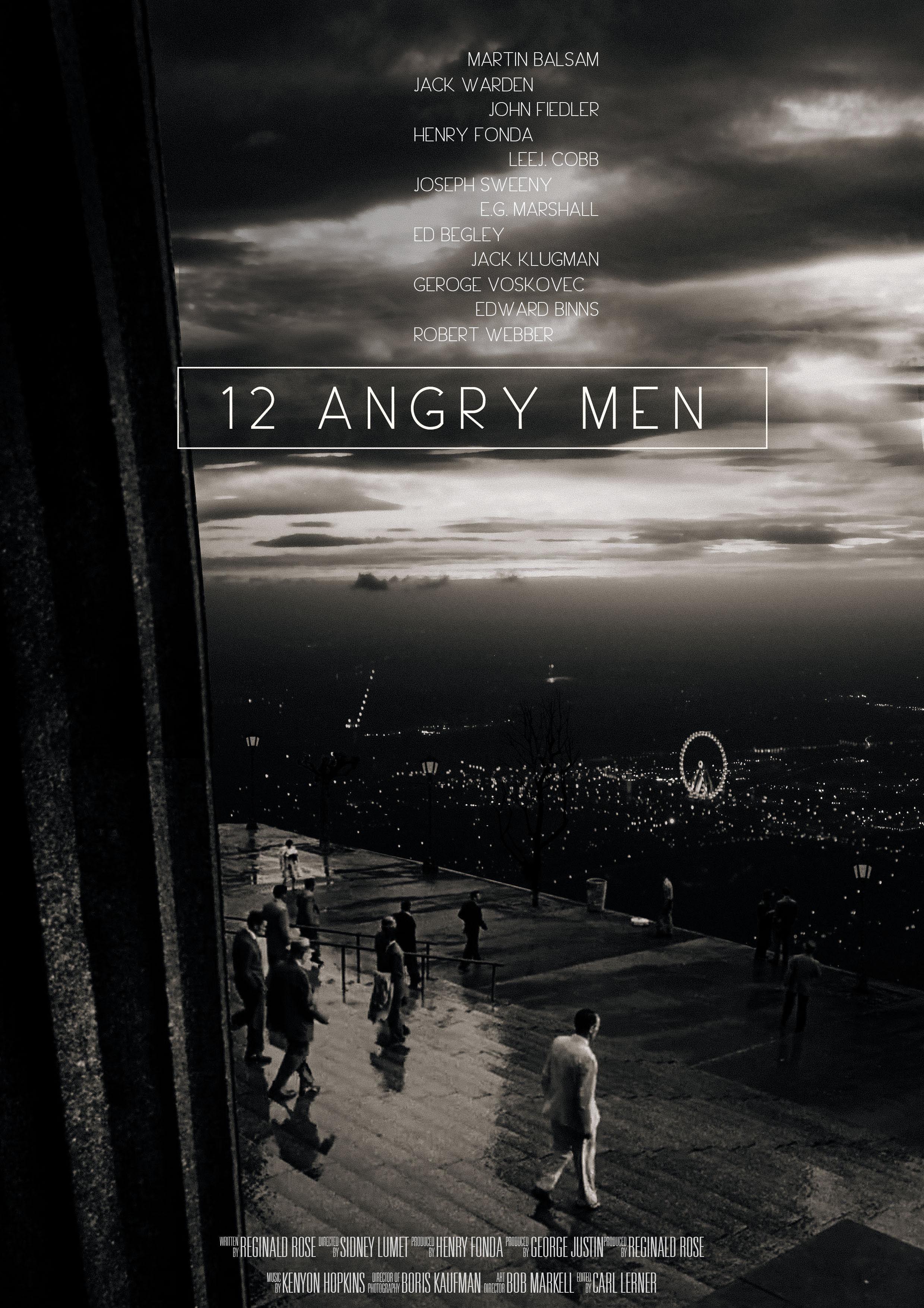 12 Angry Men (1957) Movie Wallpaper #12AngryMen #12AngryMen1957 | 12 ...