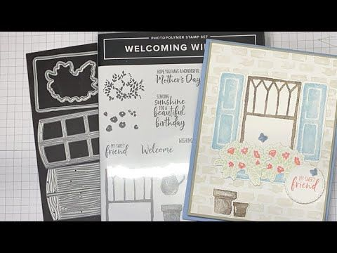 Stampin' Up! Welcoming Window Friend Card Tutorial