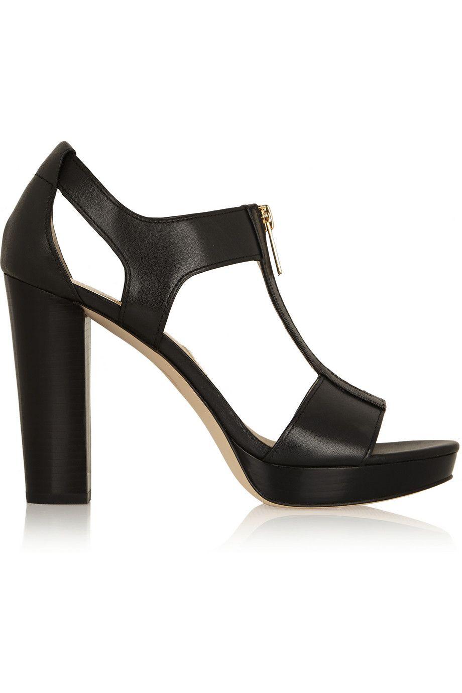 MICHAEL Michael Kors|Berkeley leather sandals|NET-A-PORTER.COM