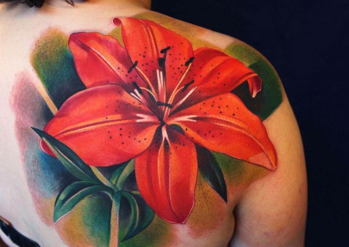Épinglé par Maria Cooney sur Tattoo   Tatouage de lys, Tatouages ...