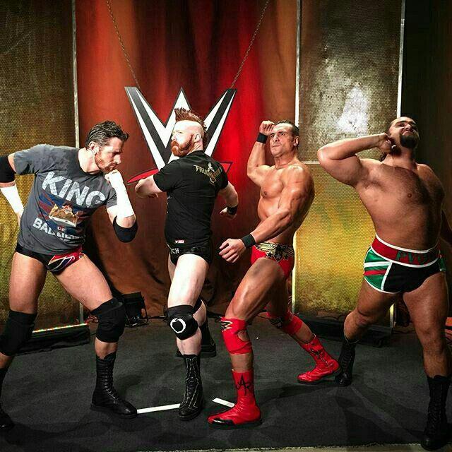 The League Of Nations Wade Barrett Pro Wrestling Wrestling Wwe
