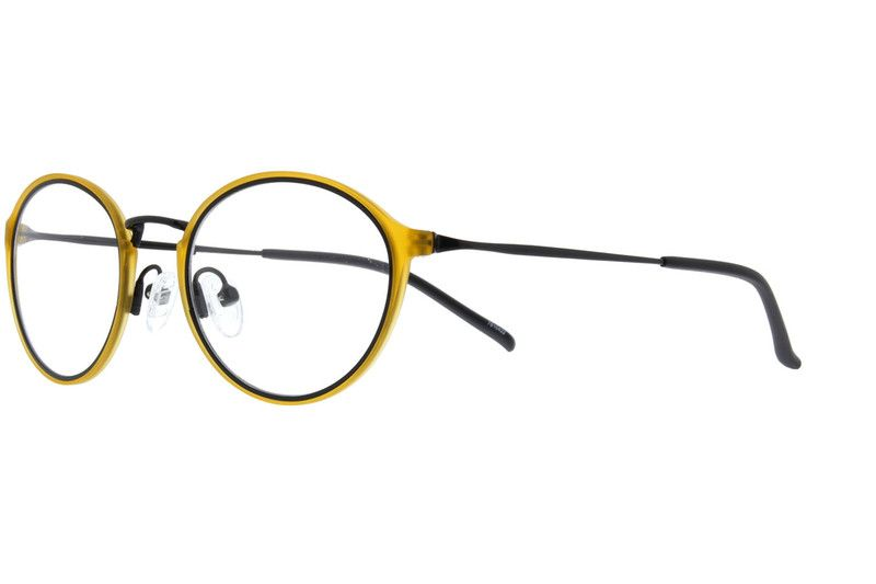 050f72a167d1 Yellow Oval Glasses  7810422 Eyeglasses