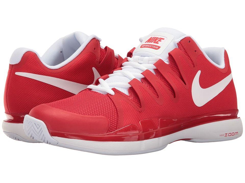 Nike Zoom Vapor 9 5 Tour University Red White Men S Tennis Shoes Modesens Nike Zoom Nike Shoes Blue Nike