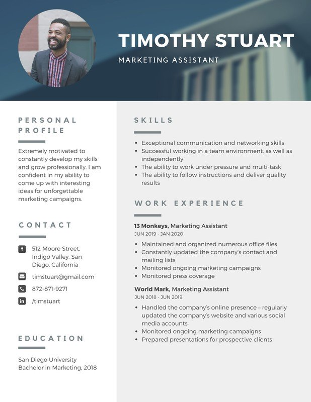 Search Canva in 2020 Resume templates, Resume template