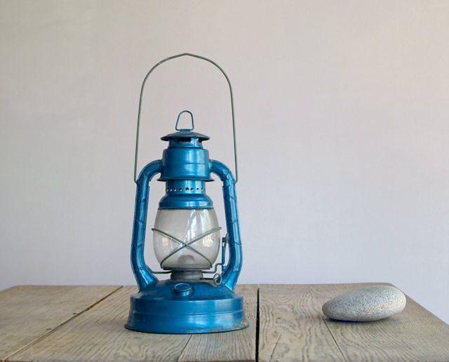 Vintage Dietz Little Wizard Kerosene Lantern, Little ...