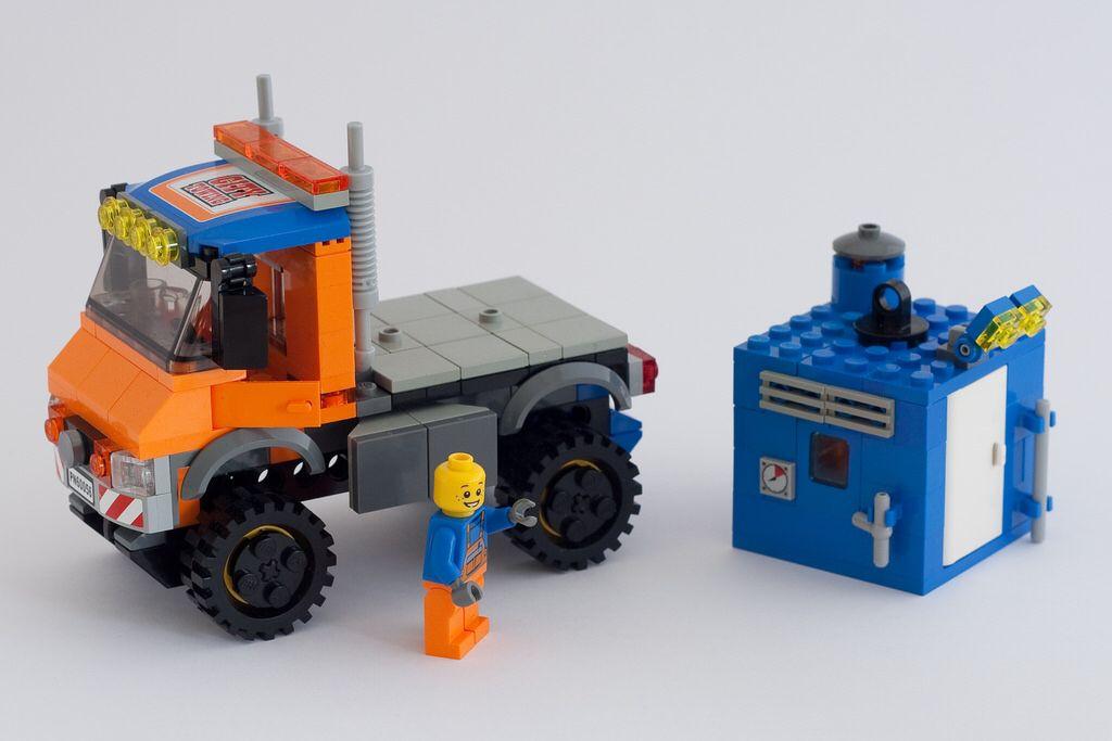 Lego Unimog City Moc Unimog Lego Unimog Lego Lego Machines