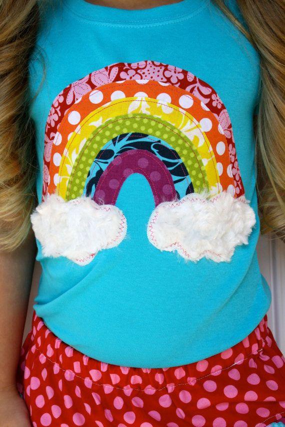 Over The Rainbow Shirt Sleeve by sherunslikeagirl on Etsy, $28.00