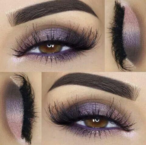 Purple smoky eye 😍