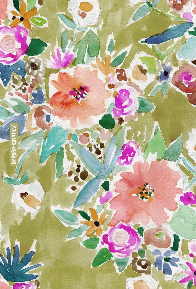 K.I.S.S. floral Barbarian print