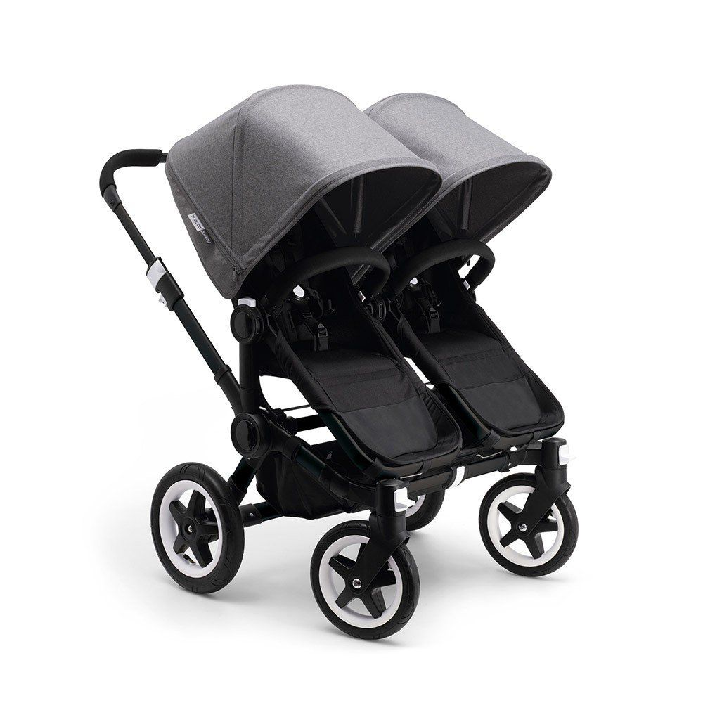 Zwillingskinderwagen bugaboo donkey  With the Bugaboo Donkey in Black - going out with twins has never ...