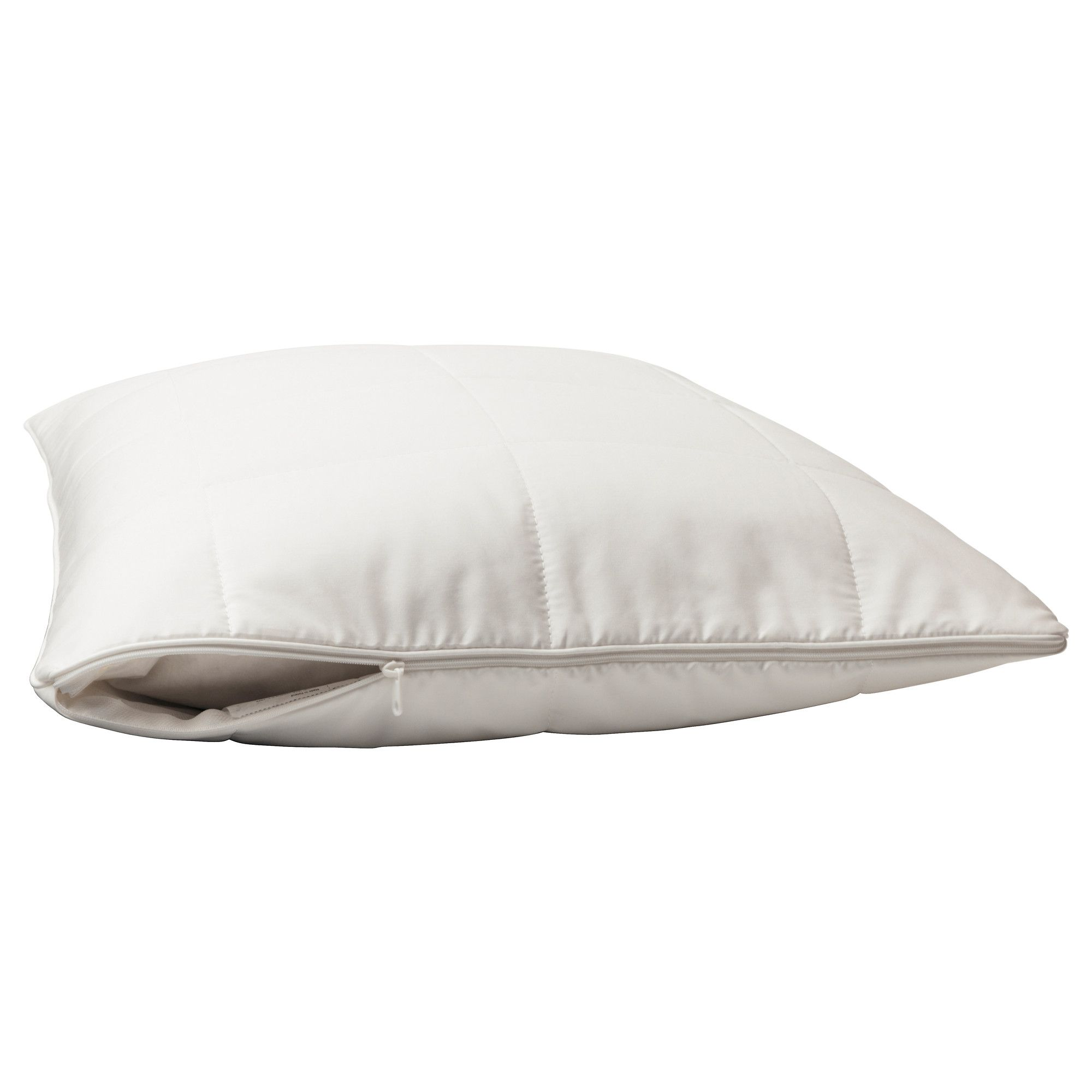 zipper and protectors down protector essential cotton pillow natural white etc bedding details