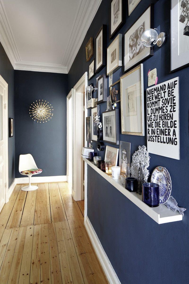 Hallway trim ideas   ideas para decorar y transformar el pasillo  White trim Wood