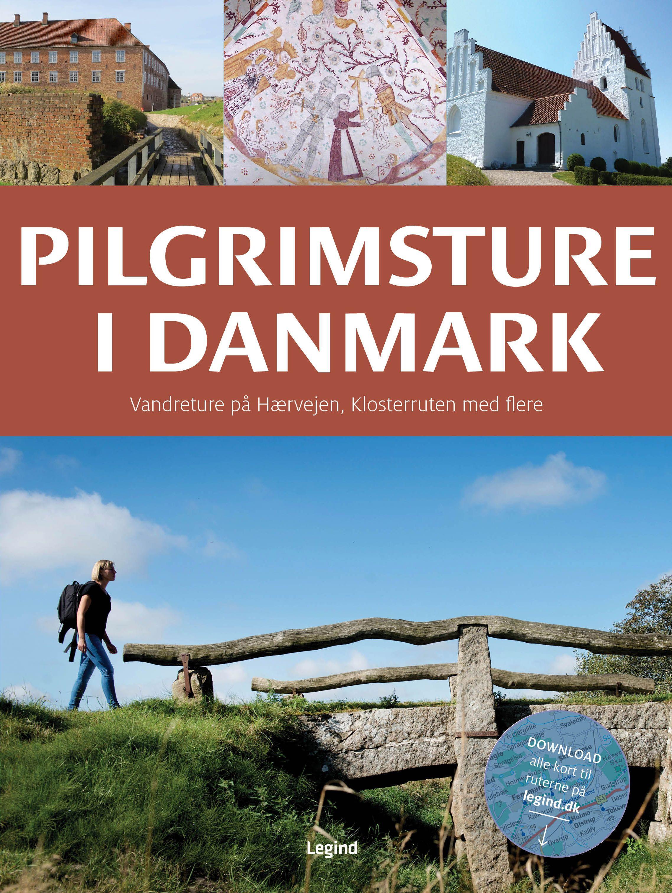 Pin Pa Sykle Og Vandre I Danmark