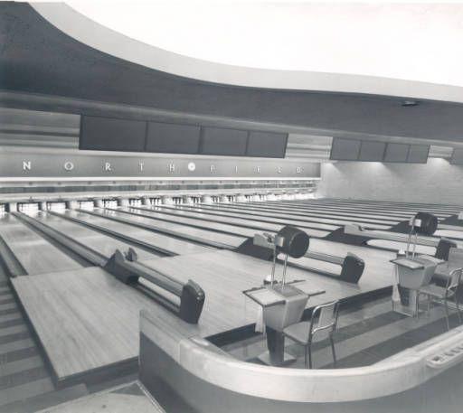 Northland Lanes Bowling Interior 2222 Plainfield Ne December 15 1947 Grand Rapids Michigan Grand Rapids Mi Grand Rapids