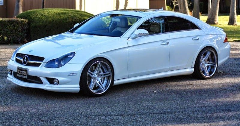 Mercedes Benz W219 Cls Class On R20 Wheels With Images