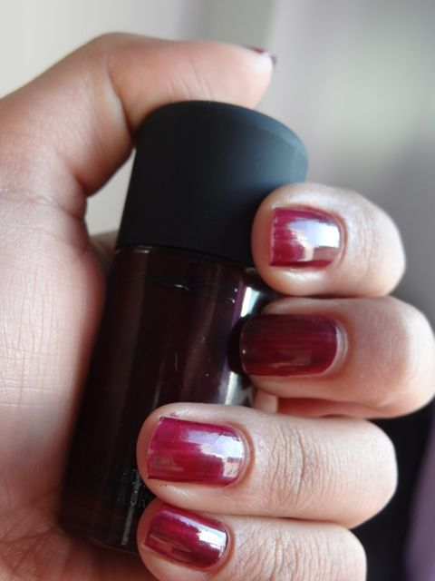 MAC #MeOver #PurpleMajesty #Nail #Lacquer #review #price and details ...