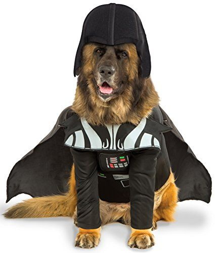 No cat will mess with the dark side of the force when your dog has its Star Wars Darth Vader Pet Costume on. This Costume includes a Shirt with Attac  sc 1 st  Pinterest & Star Wars Darth Vader Big Dog Boutique XXX-Large -- You can find ...