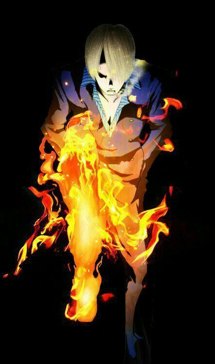 Sanji Diable Jambe One Piece Topi Jerami Animasi Bajak Laut