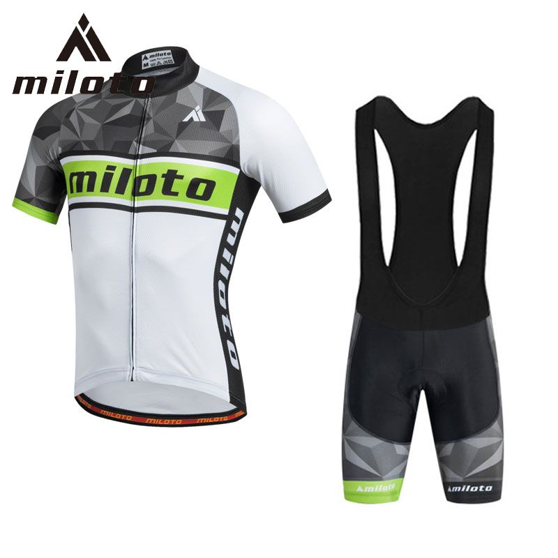 f04773c98 Miloto Breathable Cycling Jersey Pant Set for men Male Racing Bike Cycling  Clothing Cycle Clothes Wear Ropa Ciclismo Sportswear