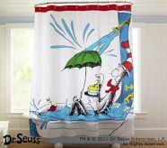 Dr Seuss Shower Curtain Potterybarnkids Kid Bathroom Decor