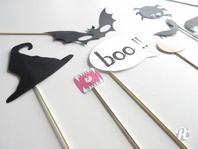 DIY halloween  photobooth effrayant! Halloween Pinterest DIY - halloween decoration printables