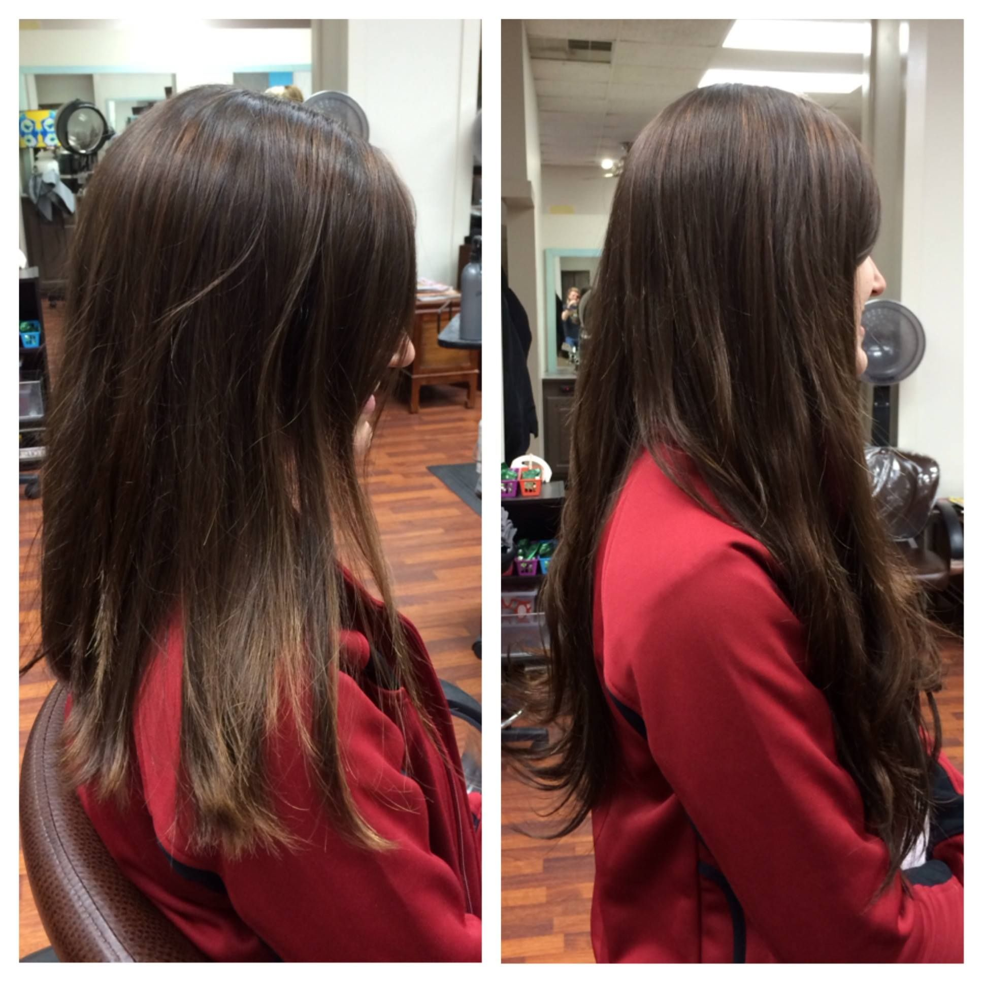 Before And After Extensions Lex Moore Style House Salon Nashville Tn Panache Hair Salon Florence Sc Long Hair Styles Hair Styles Hair