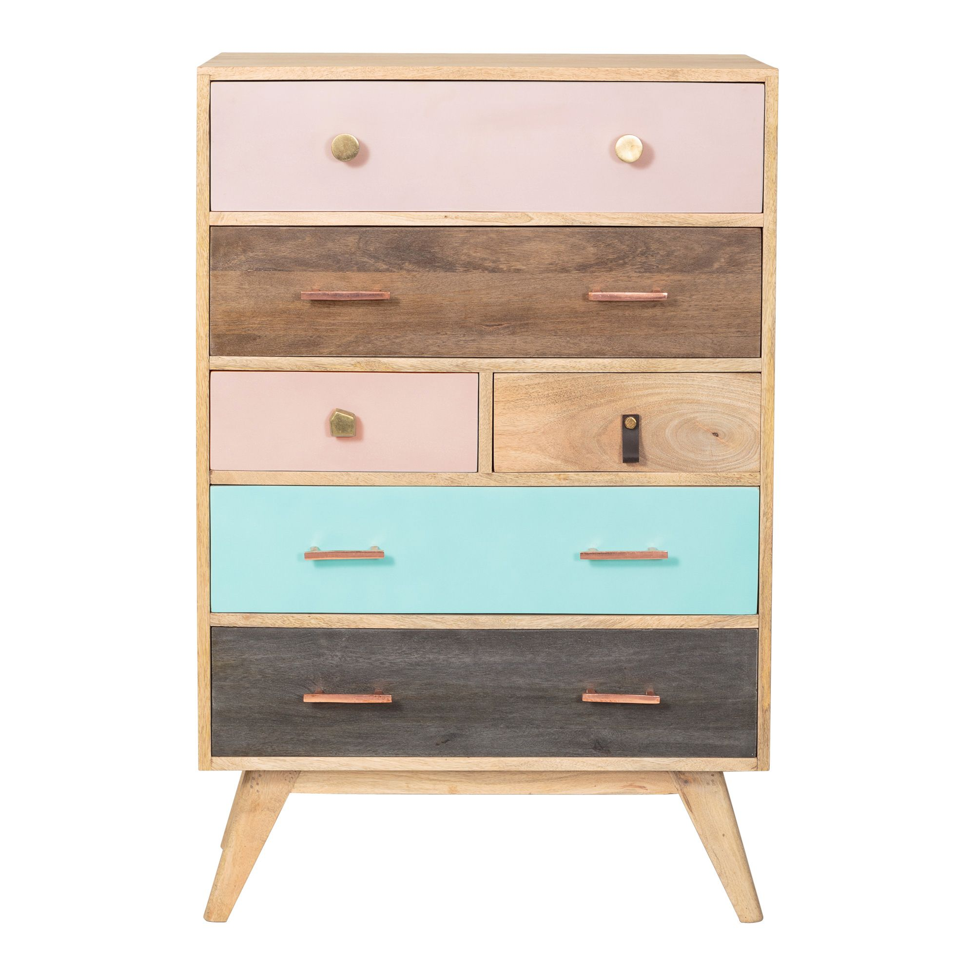 Buy the January Six Chest of Drawers at Oliver Bonas We deliver