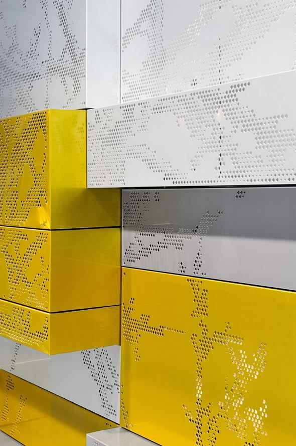 B Ox Picture Gallery Metal Wall Panel Perforated Metal Panel Metal Signage