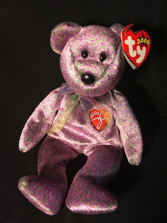 TY Beanie Baby 2000 Signature Bear by JewelzVintage on Etsy  169885269d5