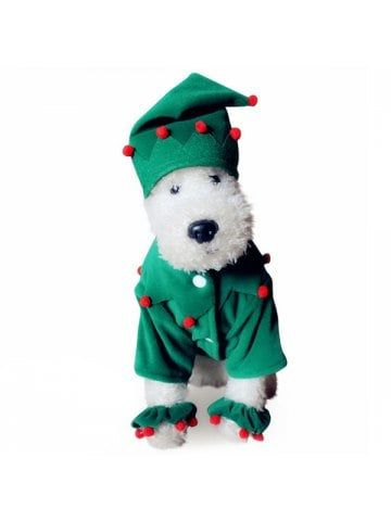 eaa8501c1a45 Santa Costume Pet Clothing for Dogs   Doggie stuff   Pet costumes ...