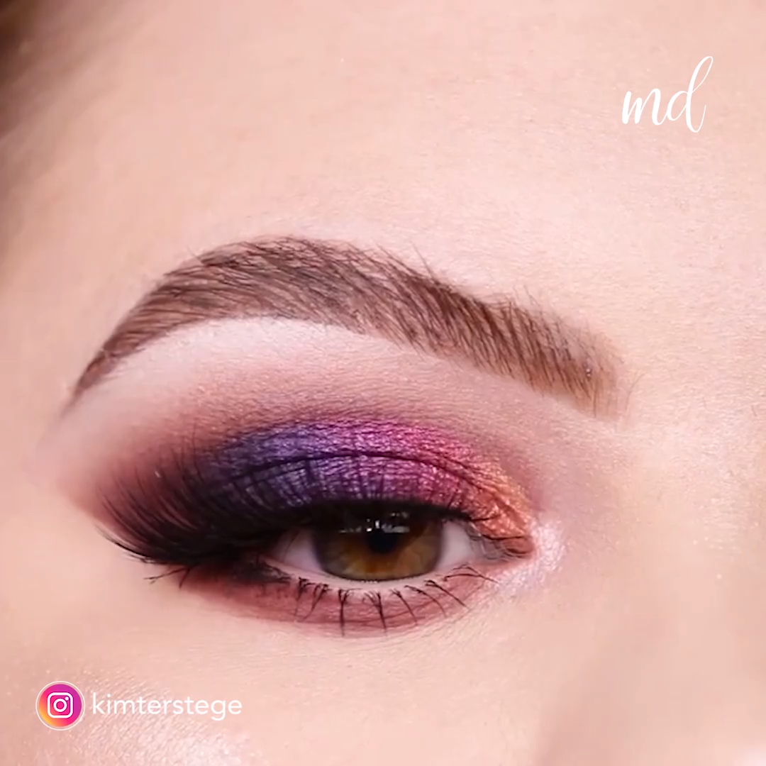 BEAUTIFUL OMBRE CUT-CREASE EYE MAKEUP – Maquillaje