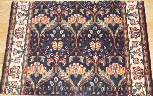 Best Persian Garden Stair Runner 12 Charcoal Carpet Runner 400 x 300