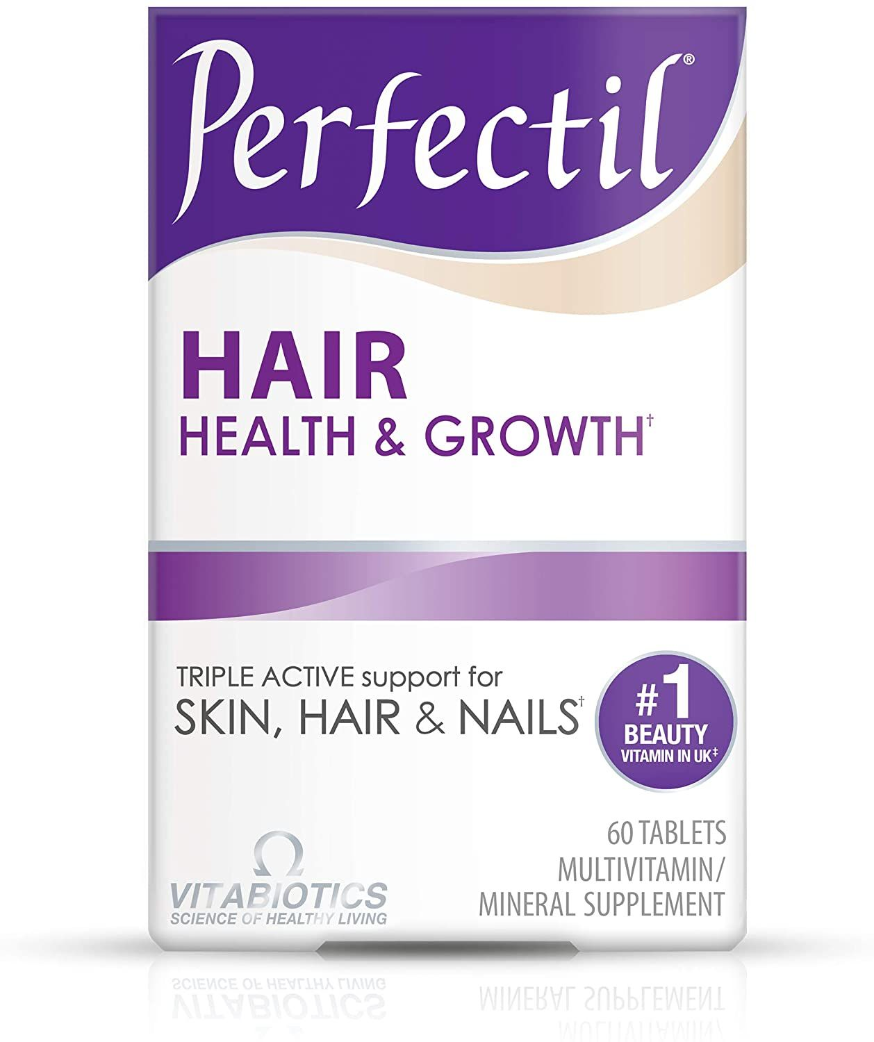 Vitabiotics Perfectil Plus Hair 60 Tablets Health And Personal Care Amazon Affiliate Link Click Image F Beauty Vitamins Hair Health Growth Grow Hair Back