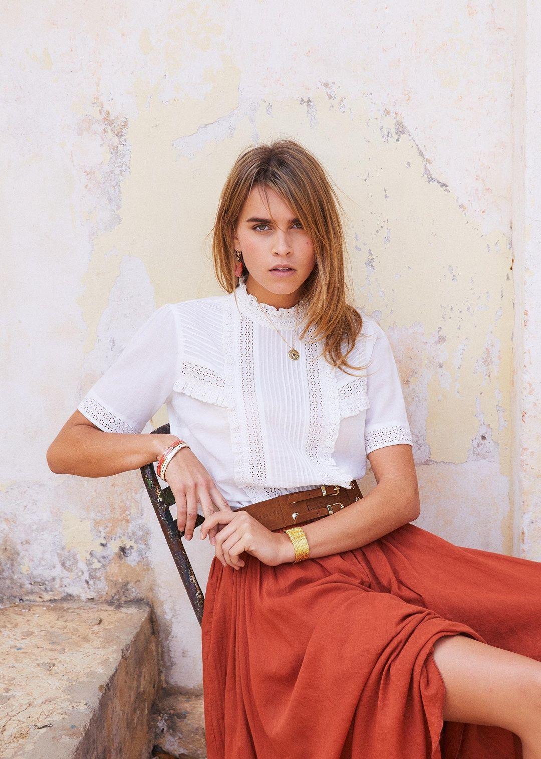 27831f4419106 Sézane - Anne blouse