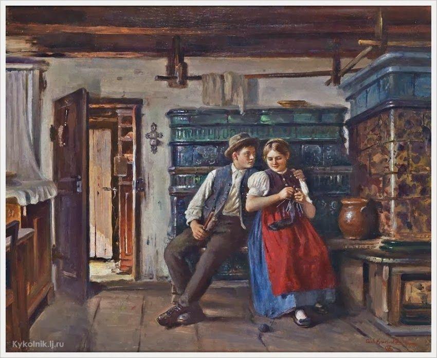 Carl Kricheldorf (German, 1863 - 1934) «The Admirer»