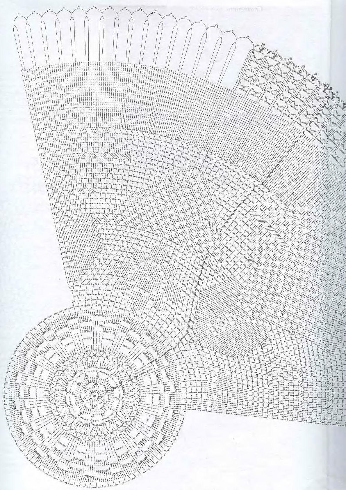 24/ok75 | Mantel | Pinterest | Carpeta, Ganchillo y Centros de mesa