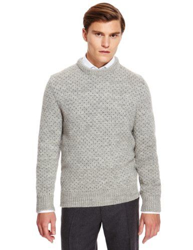 Best of British Pure Wool Fair Isle Knitted Jumper - Marks ...