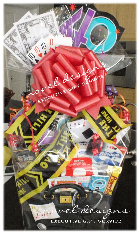 Doctors Bag Gift Basket Box