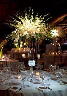 Gold Wedding Flower Arrangements