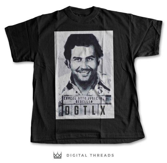 Narcos T Shirt Pablo Escobar netflix
