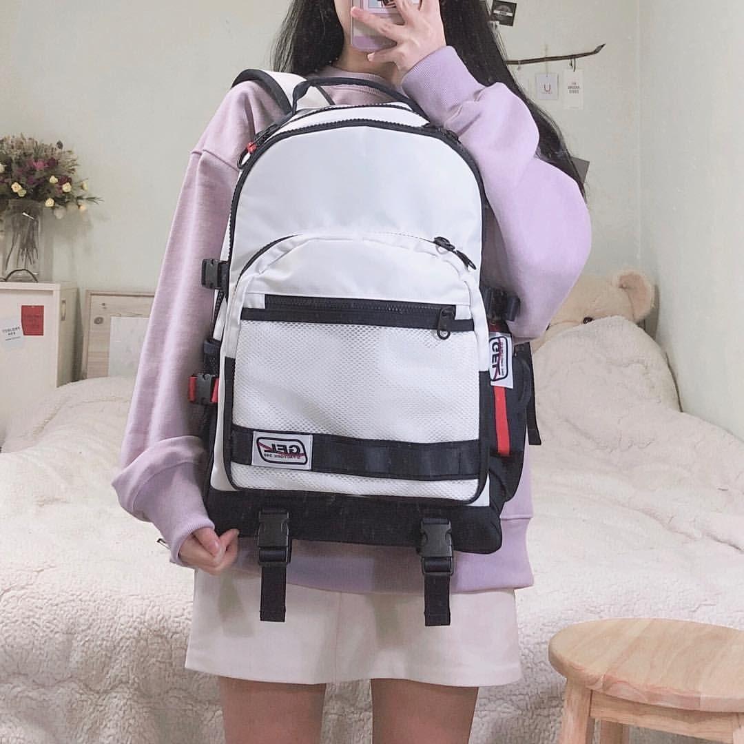 색감 너무 이쁜 맨투맨 실용성 좋은 백팩 지플렛 백팩 가방 패션 스타일