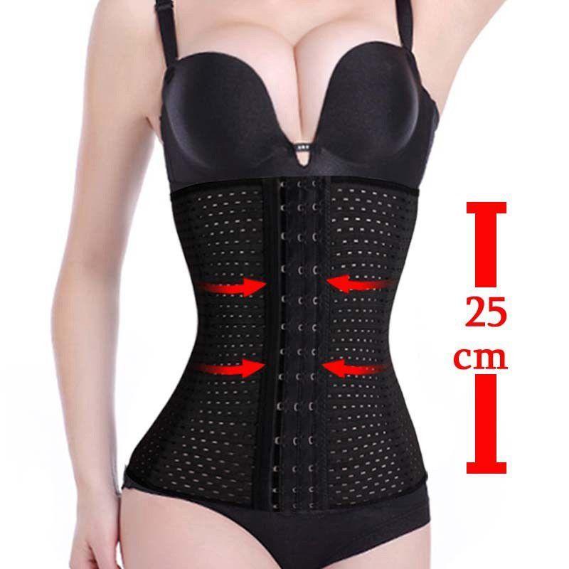 3ca5d45f1df39 Modeling strap Black waist cincher slimming sheath belly reduce belts fajas  corselet ardyss body shapewear bustier waist trainer