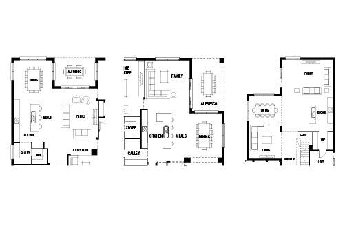 Furnishing Open Plan Living Modern Open Plan Floorplans Id Studio Interior Open Plan Living Open Plan Kitchen Dining Living Open Plan Kitchen Living Room