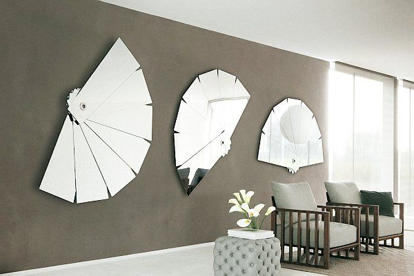 28 Unique And Stunning Wall Mirror Designs For Living Room Part 75