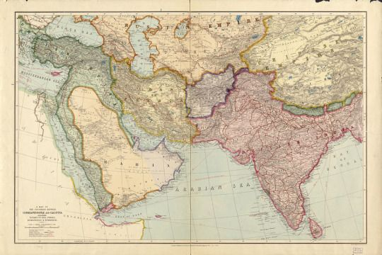 Old map of south asia 1912 very simple history pinterest asia old map of south asia 1912 very simple publicscrutiny Gallery
