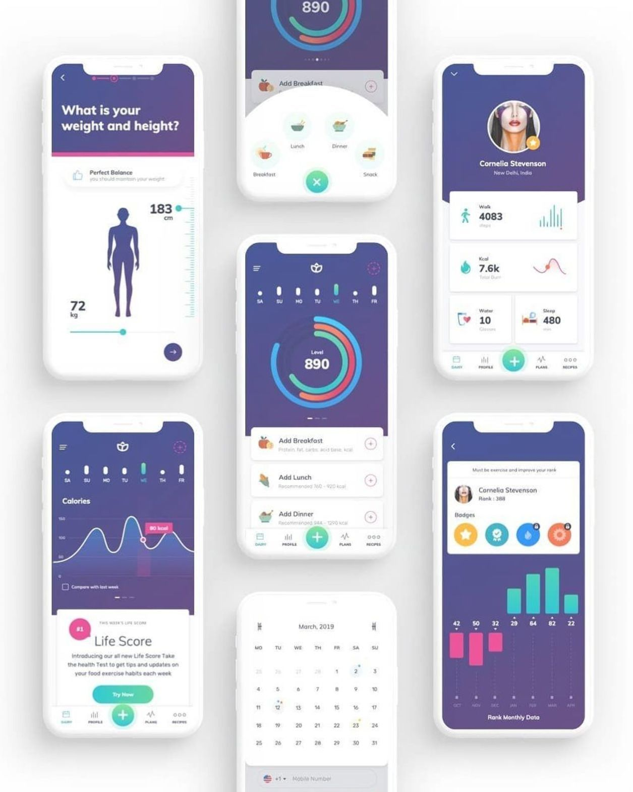App Di Design pin on mobile app
