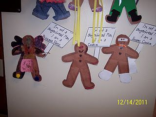 Family Project Decorate A Gingerbread Man Gingerbread