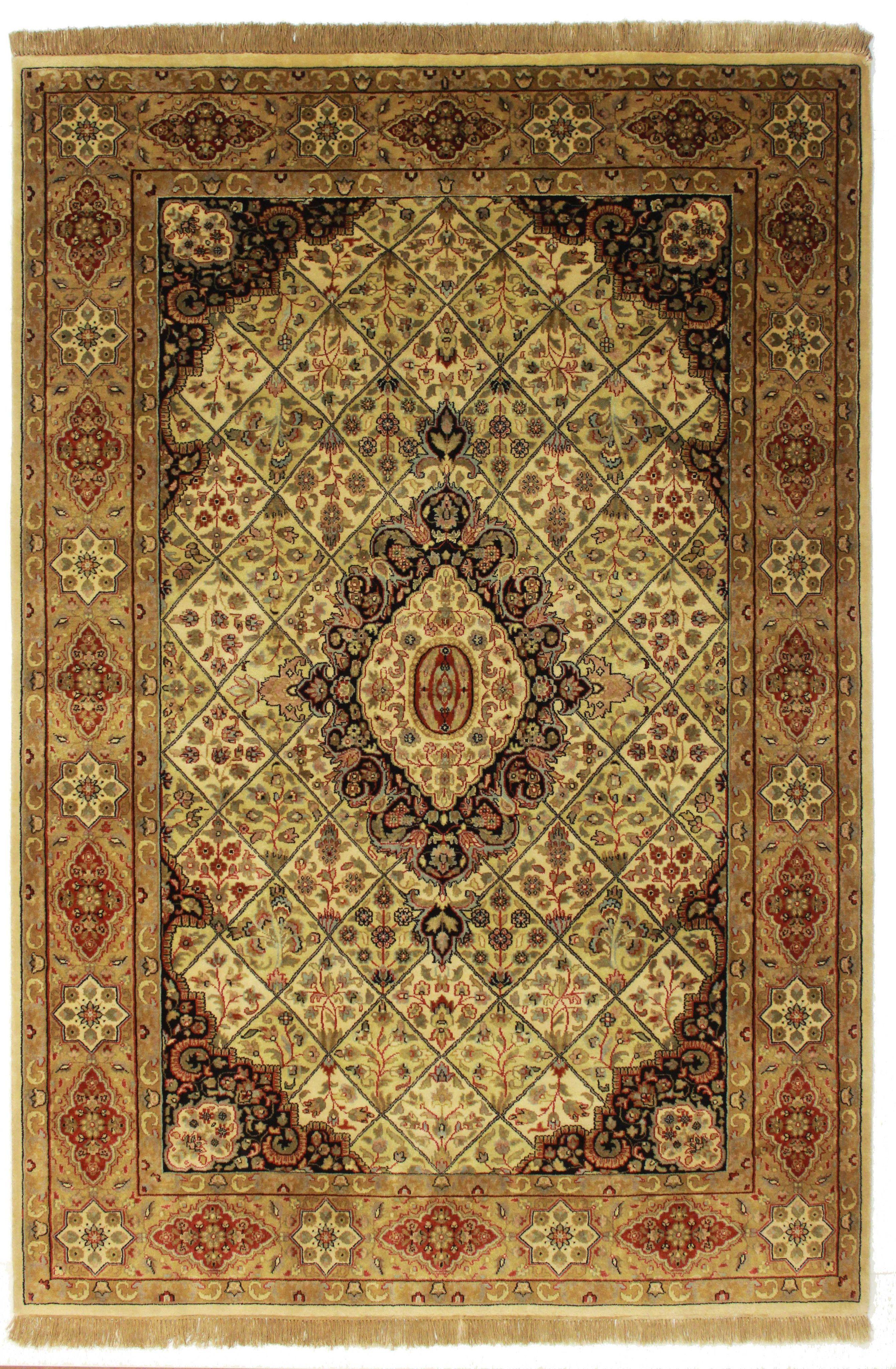 "6' X 8'10"" Persian Style Handmade Rug"
