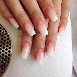 french fade nails nails pinterest n gel und sch ne hintern. Black Bedroom Furniture Sets. Home Design Ideas