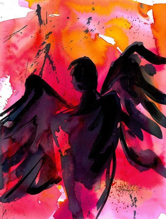 Angel No.19  Original by Kathy Morton Stanion